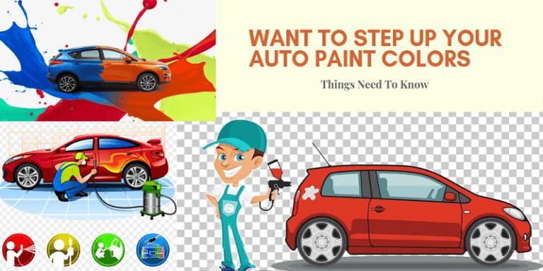 Your Car Paint Colors Guide