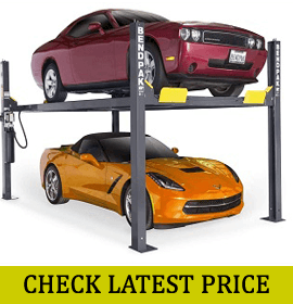 BendPak 9000-Lb. Capacity 4-Post Car Lift