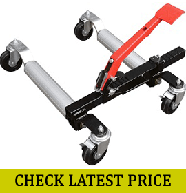 Sunex Tools 1500-Pound Hydraulic Wheel Dolly