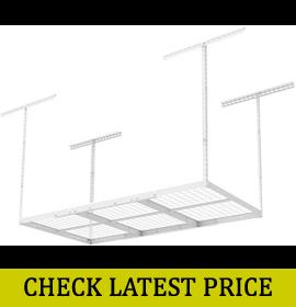 FLEXIMOUNTS 3×6 Overhead Garage Storage Adjustable Ceiling Storage Rack