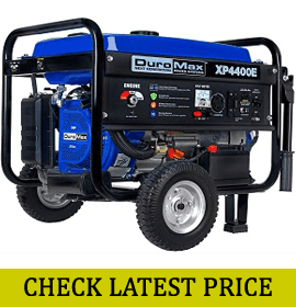 DuroMax XP4400E Gas Powered Portable Generator