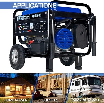 Features of Duromax xp4400e Generator