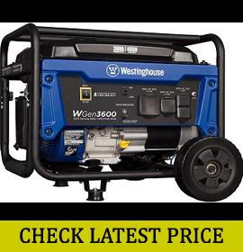 Westinghouse WGen3600 Portable Generator