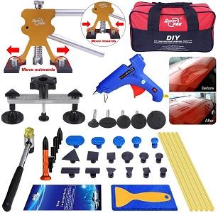 AUTOPDR 40pcs DIY Paintless Dent Removal Kit
