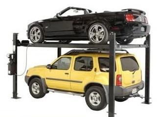 Auto Lift Car-Park-8 4 Post Parking Storage Car Lift