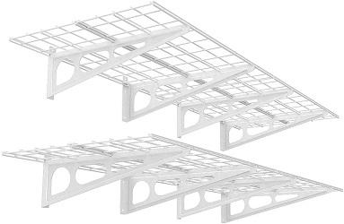 FLEXIMOUNTS 2-Pack Garage Storage Rack