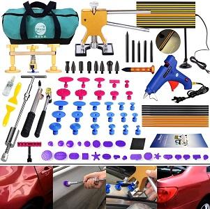 GLISTON 89pcs DIY Paintless Dent Repair Kit