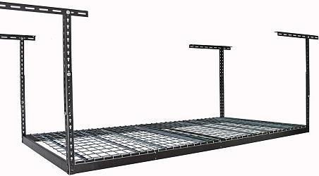 MonsterRax 4×8 Overhead Rack – 500 LB Capacity