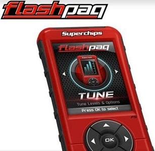 New Superchips Flashpaq F5 In-cab Tuner