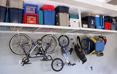 SafeRacks 4×8-2 Rack Package Garage Storage