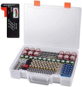 ALKOO Battery Organizer Holder