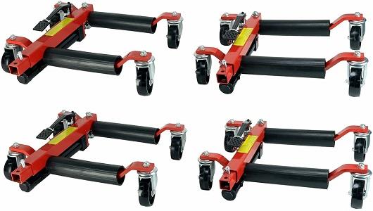 Dragway Tools (4) 12in. Hydraulic Car Dolly