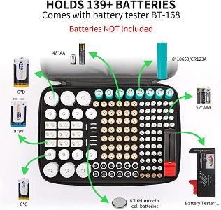 Keenstone Battery O rganizer Storage