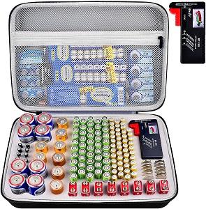PAIYULE Battery Organizer Storage Case