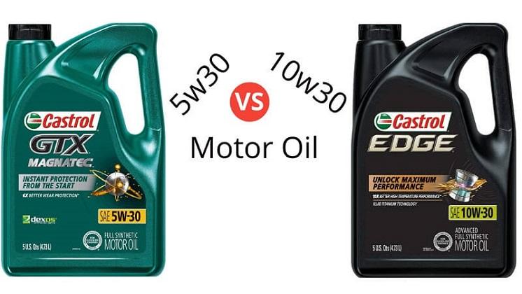 5w30 vs 10w30 Motor Oil